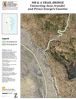 Proposed WB&A Trail Bridge