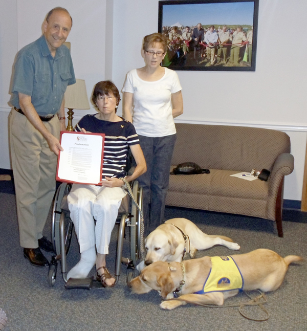 CE Leopold Recognizes International Assistance Dog Week