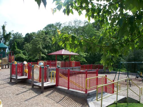 Kinder Farm Park Playground Area