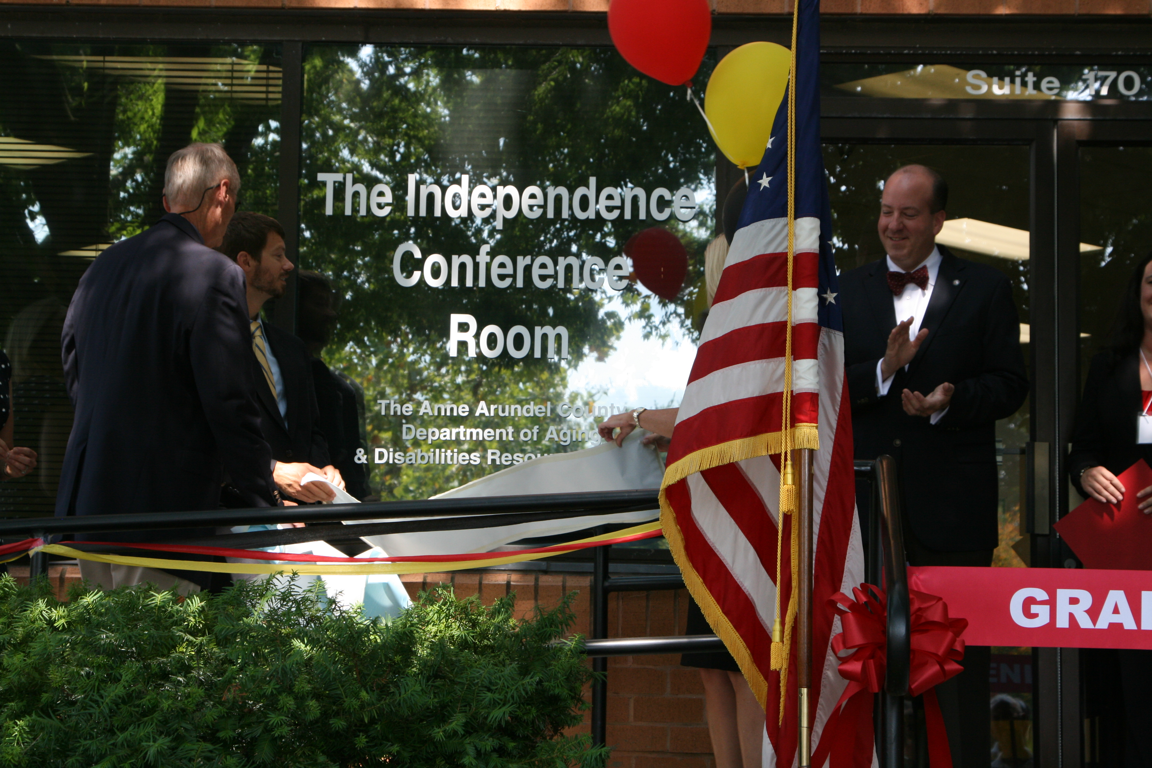DoAD Unveils Independence Conference Room