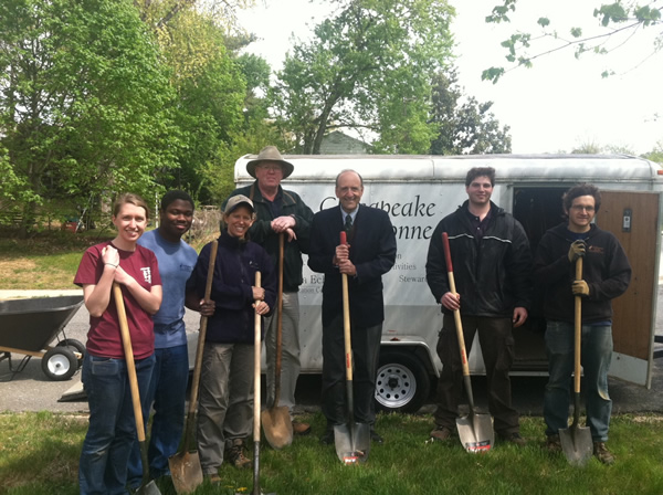 Planting Trees at Arlington Echo