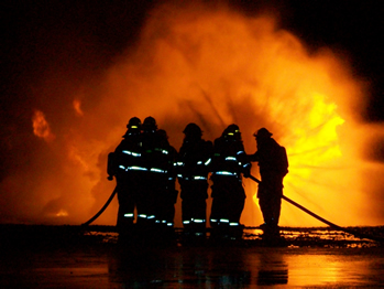 Image: Fire Training Exercises