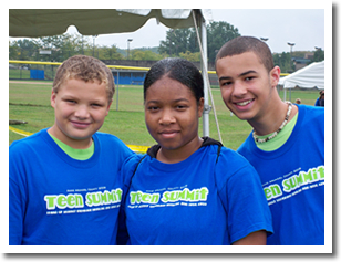 Image: Kids at Teen Summit