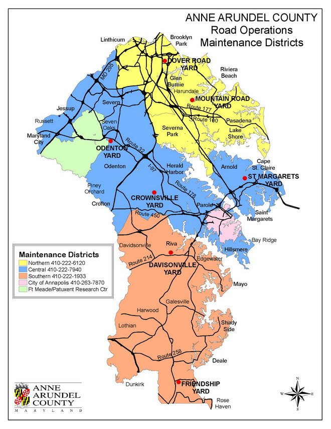 Image: Road Districts
