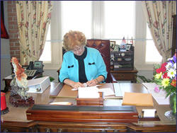 Image: County Executive Janet Owens
