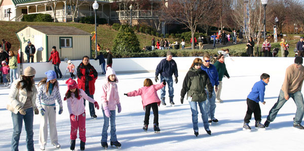 Quiet Waters Park Ice Rink