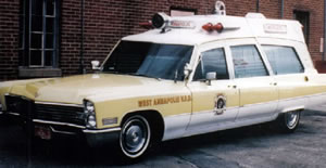 Ambulance from early 1950's