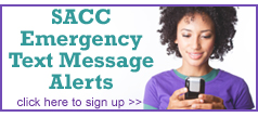 Image: SACC Emergency Text Message Alerts