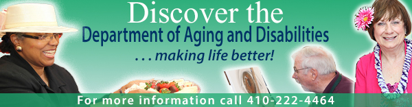 Department of Aging and Disabilities Banner