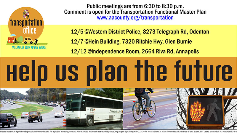 Transportation Functional Master Plan Open House