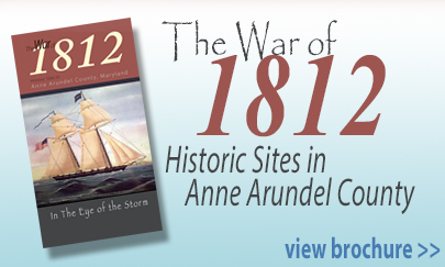 Anne Arundel County War of 1812 Brochure