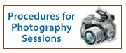 Procedures for Photography Sessions