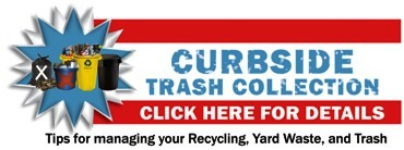 Once-A-Week Trash Collection Brochure