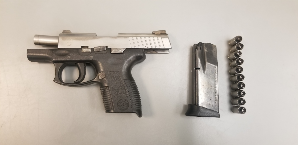 Loaded Handgun in Vehicle