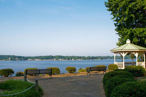 Wedding Ceremonies At Quiet Waters Park South River Overlook