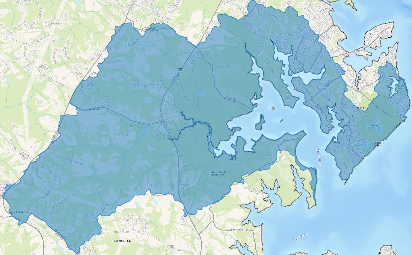 Rhode River Watershed Rhode River Watershed