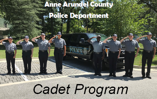 Police Cadet Anne Arundel County Md