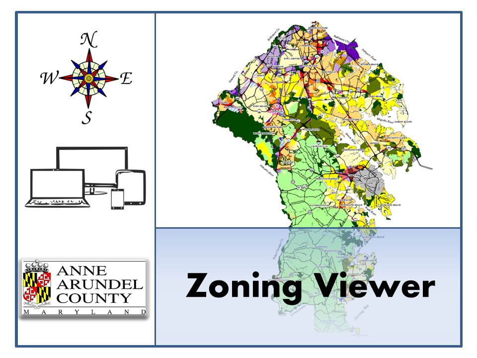 County Maps GIS Data Anne Arundel County MD