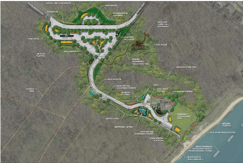 Beverly Triton Nature Park 60% Design Drawing