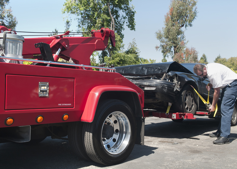 Towing hook up fee