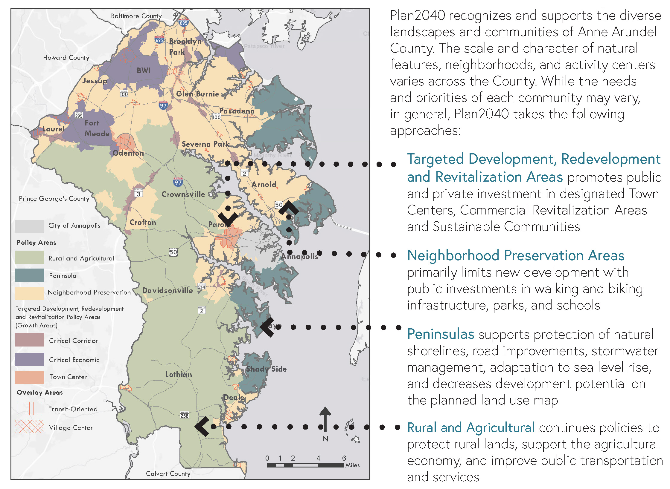 Development Policy Area Map