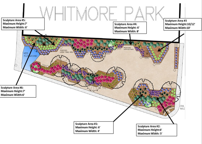 Map of Whitemore Park