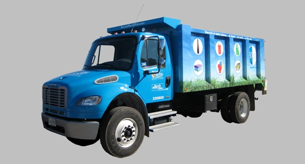 Bulk Collection Truck