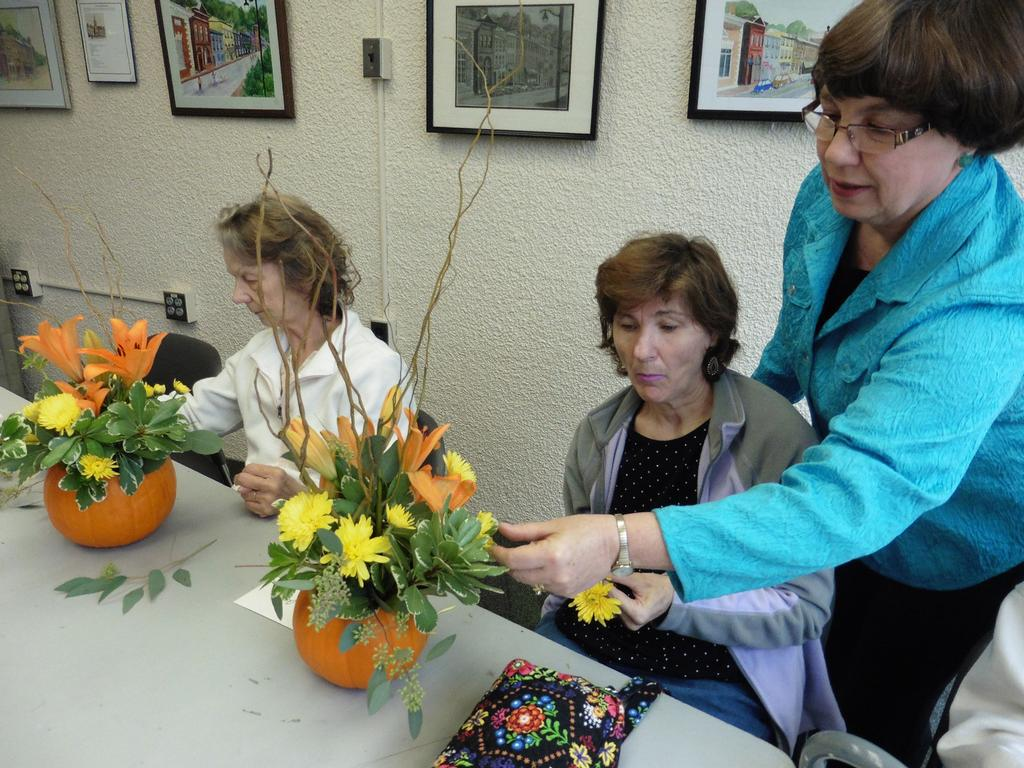 flower making class