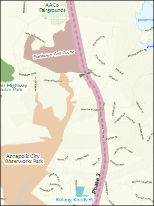 South Shore Trail Phase III and Phase IV
