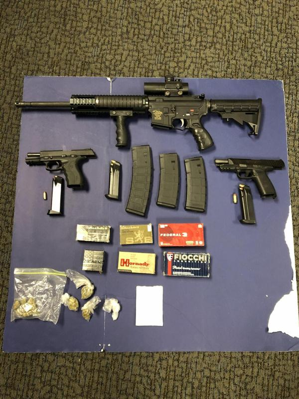 Weapons & CDS Arrest / Glen Burnie
