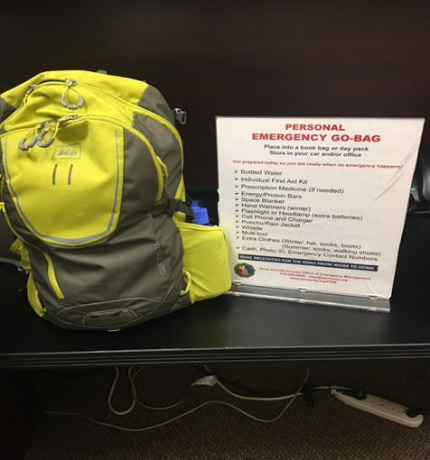 Creating a go-kit for your family will aid in eliminating stress when  disasters occur. Go-kits are simply pre-stocked bags or boxes that can be  picked up ... 32a402190